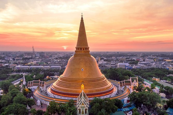 Nakhon Pathom City Tour from Bangkok with Sanam Chandra Palace