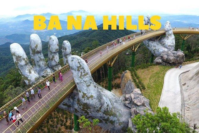 Golden Bridge Ba Na Hills day tour