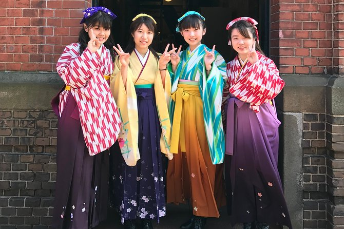 Put on 'Hakama' and travel back in time at Hakodate