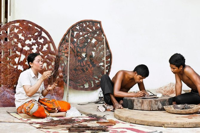 Apreciate Khmer Culture: Art of Leather Puppet Making photo 15