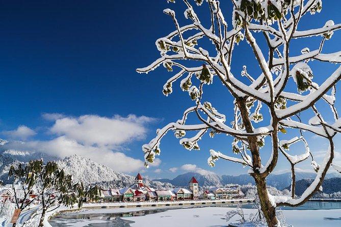 Xiling Snow Mountain and Huashuiwan Hot-spring Tour