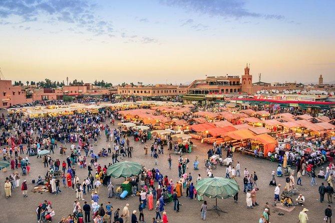 Depuis Agadir : Marrakech Visite historique et Jardins Avec Guide