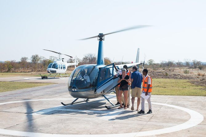12-15 minute Scenic Helicopter Flights over the Victoria Falls