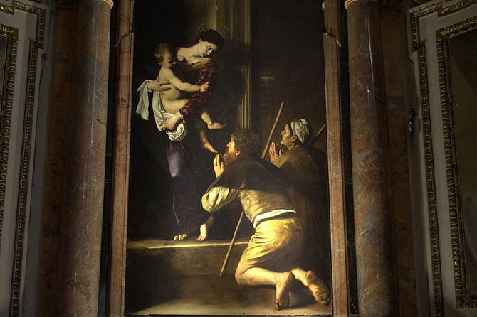 Caravaggio Art Walking Tour - The Other Michelangelo - Private Tour