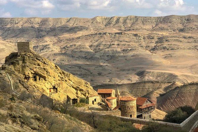 Jeep tour to David Gareja Monastery and Rainbow Mountains