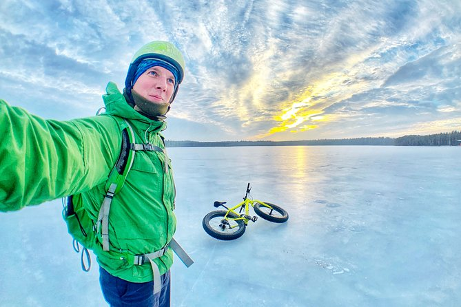 Fatbiking tour with Sauna in Visaginas, Lithuania