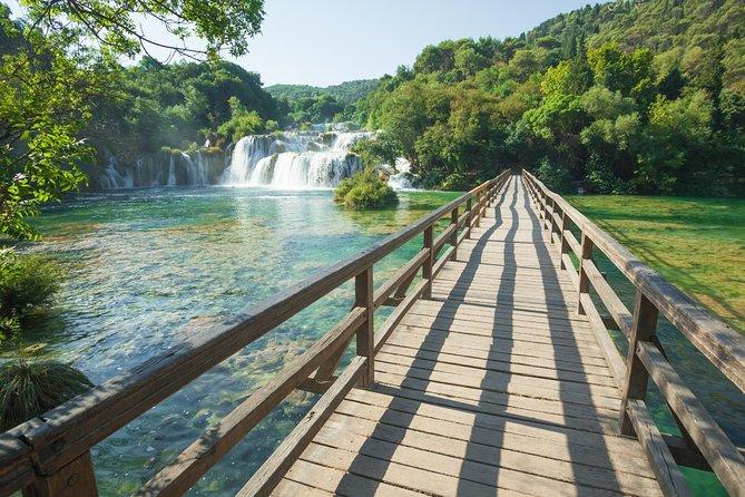 Excursão privada ao Parque Nacional Krka saindo de Dubrovnik