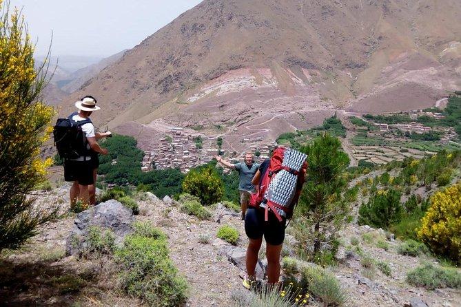 Three days valley trekking in High Atlas Mount