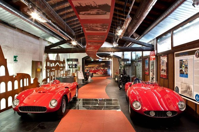 Mille Miglia vintage car museum & Brescia private guided tour, from Milan