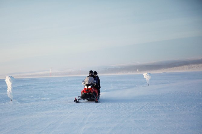 4 hour snowmobile safari over the fells in Saariselkä