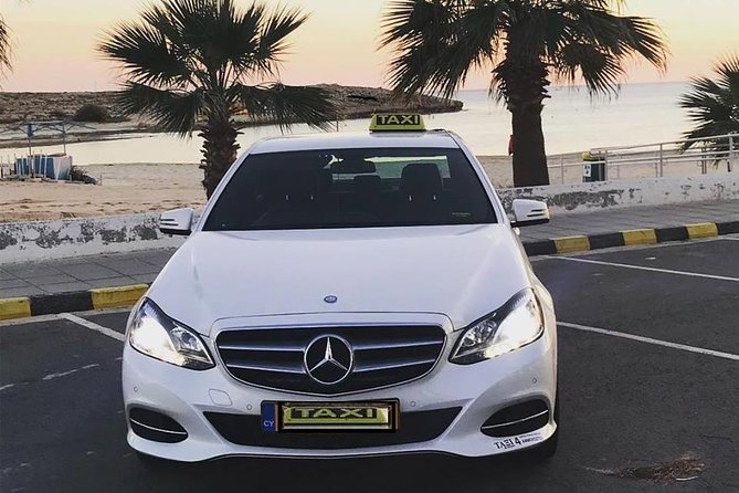 Taxi transfer from LCA airport to Ayia Napa or Ayia Napa to LCA airport