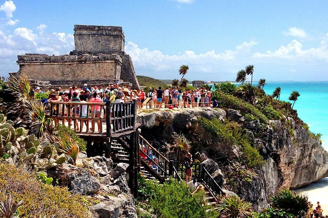 4X1 Tour to Tulum, Coba, Cenote & Playa del Carmen from Cancun or Riviera Maya
