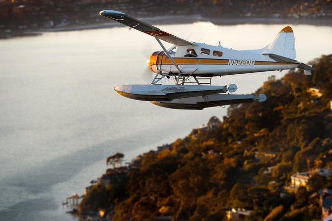 San Francisco Seaplane Flight and Alcatraz Tour