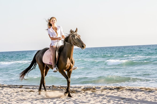 Horse Riding on the Beach in Side