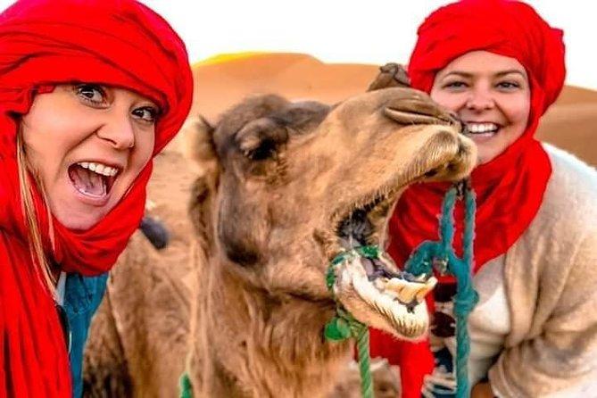 Private 4 Day Tour From Marrakesh To Merzouga Dunes & Camel Trek