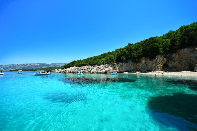 Royalty Blue Lagoon & Sivota Cruise from Corfu