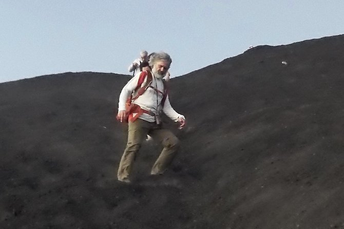 jUmping down the volcano