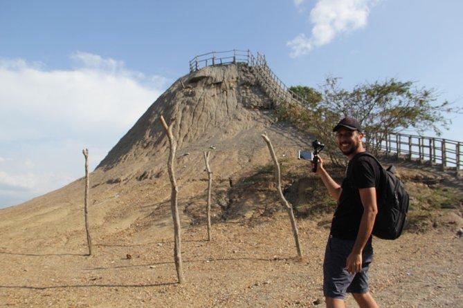 """Cartagena, mud volcano """"El totumo"""""""