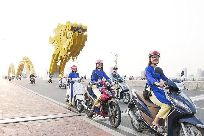 Da Nang Food Tour By Motorbike With Aodai Lady Rider
