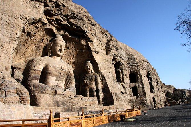 Excursão privada com tudo incluído: Grutas de Datong Yungang e Mosteiro Suspenso