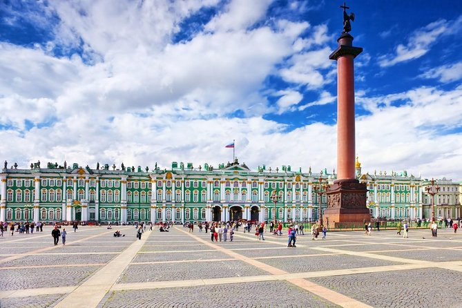 Saint Petersburg: Visit to the Hermitage, the main building and the General Staff