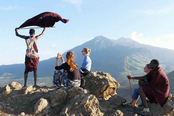 Climb the holy mountain of the Maasai