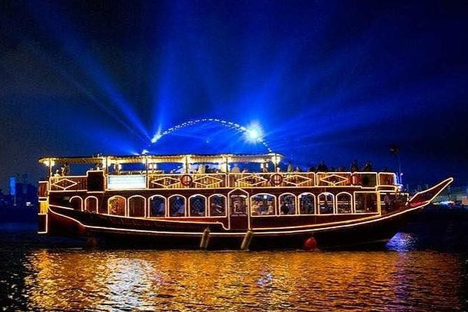 Dubai: Deira Creek 5-Star Buffet Dinner Dhow Cruise