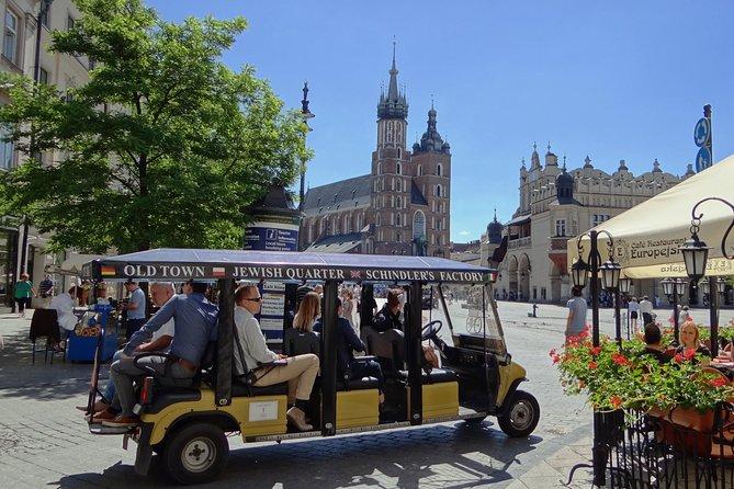 Krakow Grand City Tour by golf cart