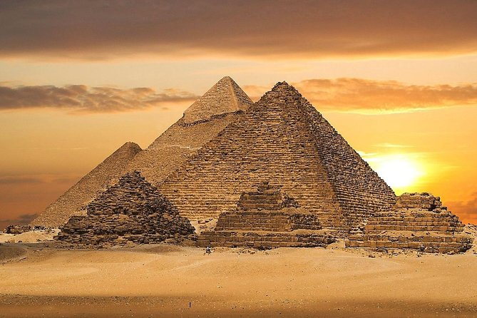 full day tour the Pyramids of Giza and the Sphinx and Memphis and Saqqara