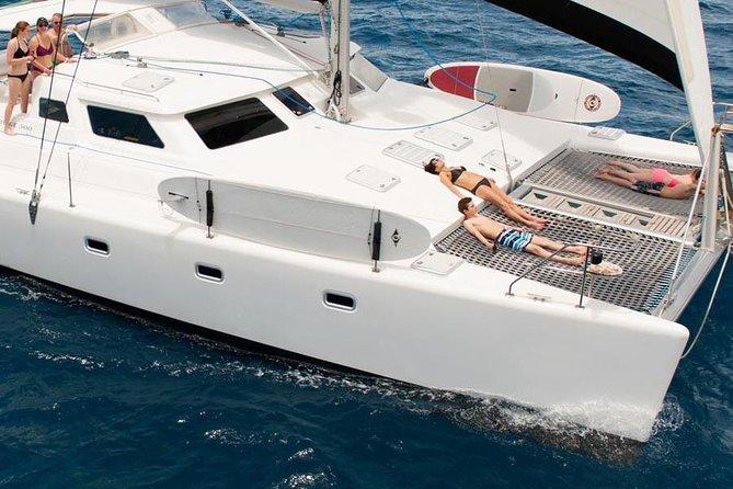 St John 50' Yacht Snorkel, Sail, Beach Experience from Margaritaville