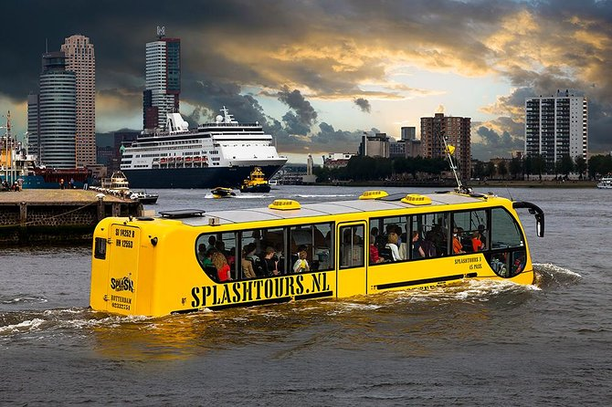 Rotterdam Land and Sea Splash Tour