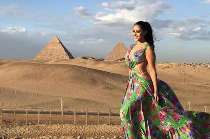 Guided pyramids tour to Giza pyramids and Dahshur including transportation
