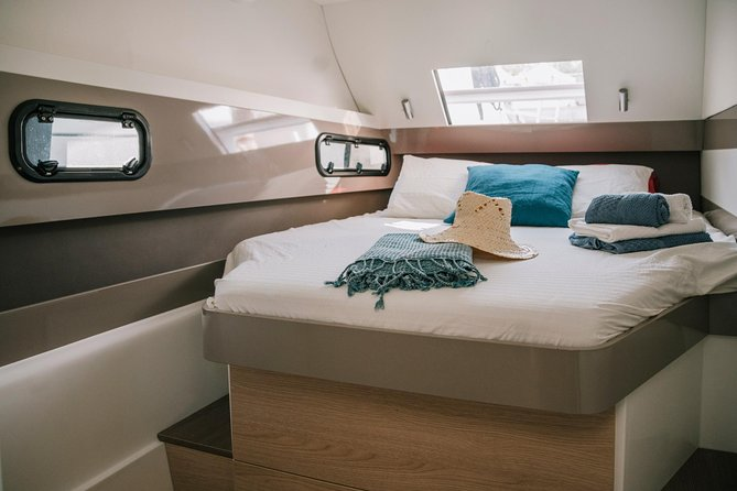 Exclusive catamaran for private experiences in Barcelona