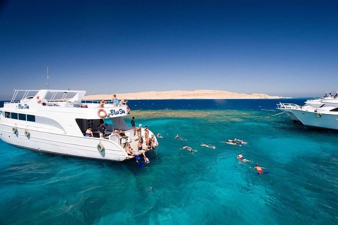 Full Day Boat Trip To White Island & Ras Mohamed From Sharm-el-Sheikh