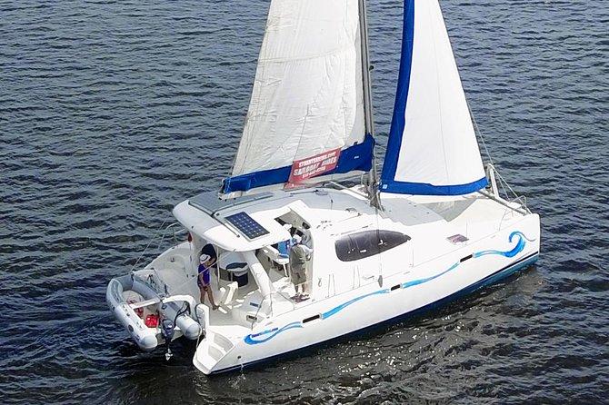 Catamaran Sail to Stuart Sandbar