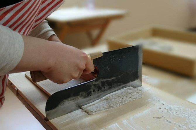 Soba Noodle Making in Matsumoto, Nagano