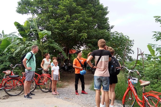 Morning group Tour 08:30 AM - Real Hanoi Bicycle Experience