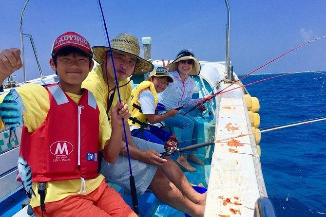 Junte-se à mão! Pesca marítima fácil em um barco! !