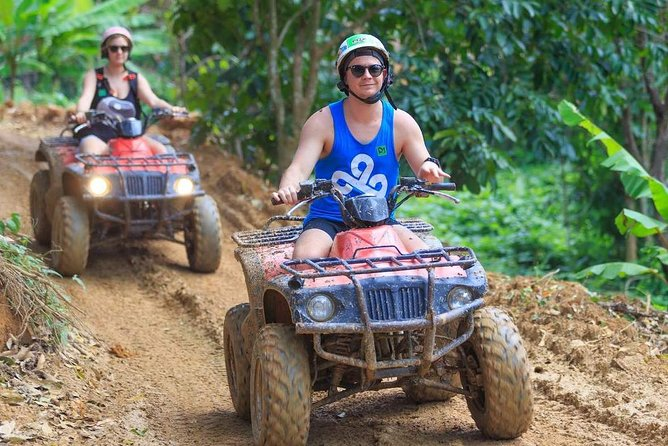 ATV Bike 1 hr + Zippiness Adventure 35 Platforms with Free Transfer