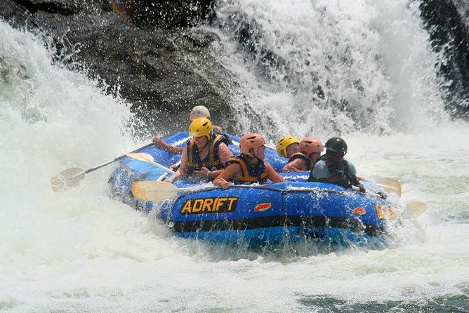 White Water Rafting the Nile in Jinja