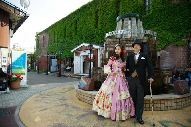 Put on a dress and travel back in time at Hakodate