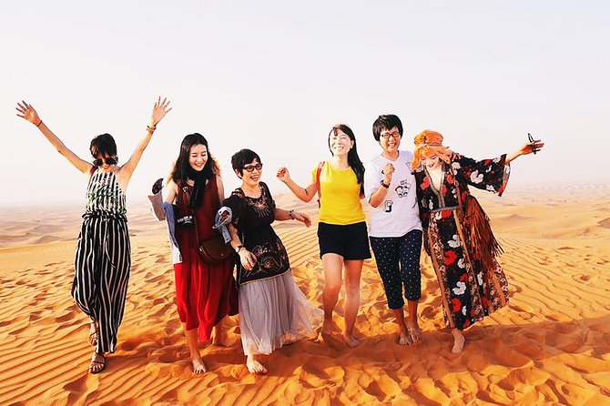 Morning Desert Safari Dubai:Dune bashing, Sand Ski, Camel Ride, Photography more