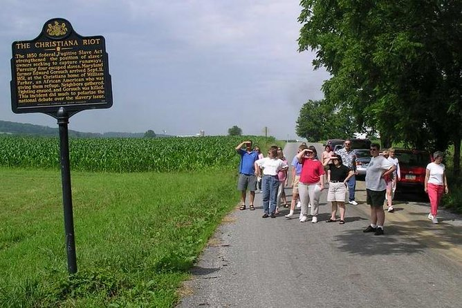 Underground Railroad motor coach excursions in Lancaster County PA
