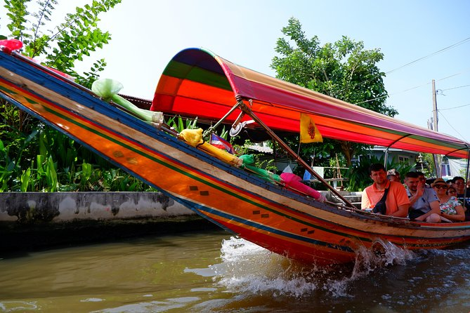 Private : Bangkok Weekend & Floating Market Day Tour