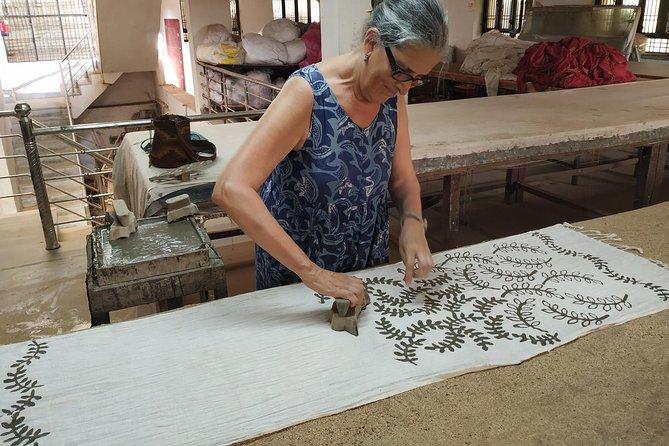 Hand-Block Printing Workshop Amidst Natural Indigo Farms In Jaipur