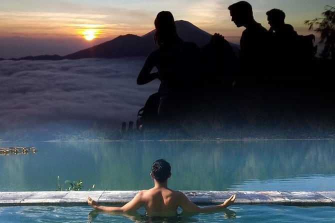 All Inclusive: Batur Sunrise Trekking with Private Hotel Transfer and Hot Spring