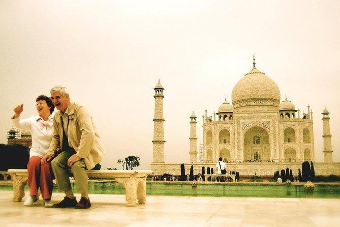 Transfer Delhi to Agra by AC car with Taj Mahal & Agra Fort Visit