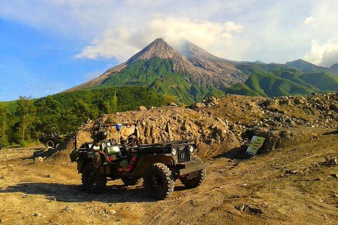 Borobudur Sunrise And Merapi Lava Experience With Jeep (PRIVATE TOUR)