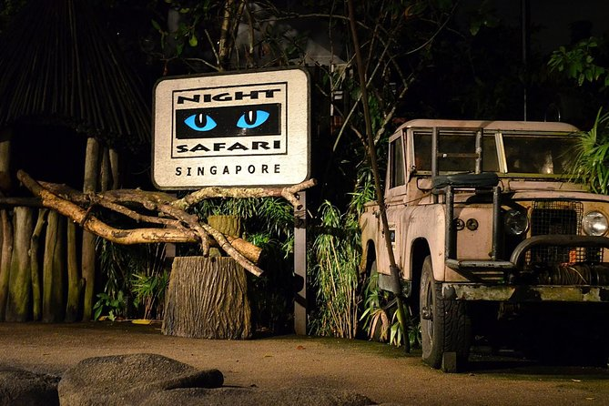 Night Safari Singapore with transfers
