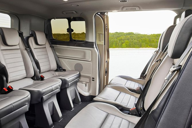 Arrival Private Transfer from Nynäshamn Port to Stockholm City by Luxury Van